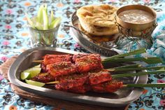 #Tandoori #Visspiesjes met #Raita #Indiase visspiesjes met een frisse #yoghurt