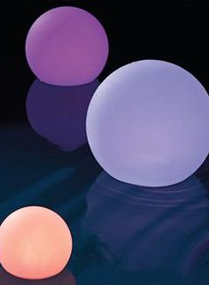 Make your nighttime parties more exciting and fun with the LED Glow Balls that you can place anywhere from your garden to the pool.