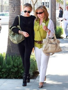 Maybe one day me and my daughter will carry Bbags together, just like Hilary and her mom.