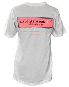 Parents Weekend