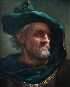 Венецианский купец – картина художника Андрея Шишкина