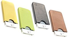 crazy expensive titanium and leather iphone case. oo soo pretty. if I were extravagant...