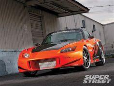 See how he built this turbocharged 2005 Honda - Super Street Magazine Honda 2000, Honda Cars, Ride Or Die, Year 2, Boom Boom, Vroom Vroom, Car Photos, Fast Cars, Cars Motorcycles