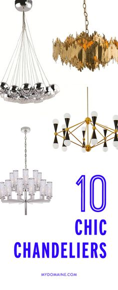 Chandeliers so cool you'll want to swing from them