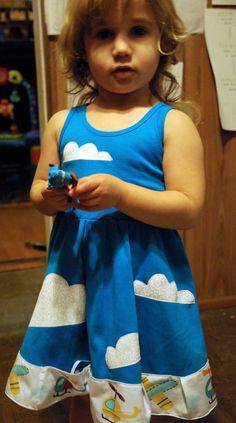 Busy Airplane Dress - Princess Awesome
