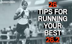 26 tips for running your best 26.2