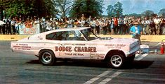 Al Graeber 66 Charger 'Tickle Me Pink' AXS funny car