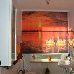 lamellenvorhang mit einem maritimen motiv zur abgrenzung des b ros wohnideen pinterest. Black Bedroom Furniture Sets. Home Design Ideas