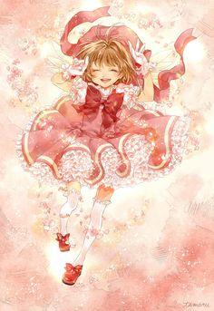 Cardcaptor Sakura | CLAMP | Madhouse / Kinomoto Sakura / 「spring」/「tamaru@ついった」のイラスト [pixiv]
