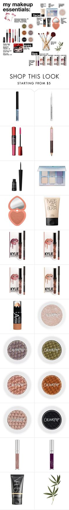 """""""MAKEUP ESSENTIALS SEPT. 2016"""" by freakystyley ❤ liked on Polyvore featuring Maybelline, NYX, Revlon, Anastasia Beverly Hills, Too Faced Cosmetics, NARS Cosmetics, Hanky Panky, GUESS, Crate and Barrel and contestentry"""