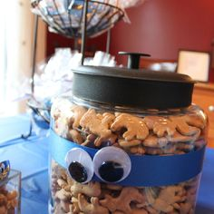 Cookie Monster party theme