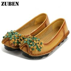 1918fbe92fd Aliexpress.com   Buy Loafer women s shoes woman footwear Women s shoes 2017  Super Soft PU Leather Flats Anti Slippy Shoe Pregnant Shoe Vintage Round  from ...