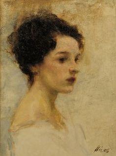 "Ron Hicks, '""M' Lady"",' 2014, Saks Galleries"