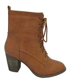 Look at this #zulilyfind! Rust Alpha Ankle Boot by Yoki #zulilyfinds