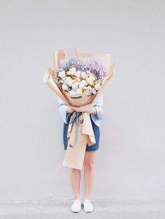 Korean Style Huge Bouquet - K5 Purple Baby, Spray Roses, Korean Style, Fresh Flowers, Korean Fashion, Bouquet, Bloom, Beautiful, Modern