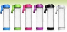 Manufacturer of the Original Glasstic Shatterproof Glass Water Bottle. The Original Safe Glass Beverage Container that gives you the Purity of Glass with the Portability of Plastic. BPA-free, shatterproof, sweatproof, durable and stylish.