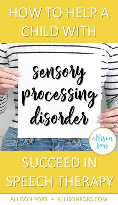 As SLPs, comprehending the sensory needs of children with sensory processing disorder allows us to better understand, help, and have more effective speech therapy sessions.