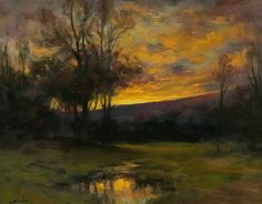 Evening's Glory (Sold) by Dennis Sheehan