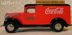 1937 Coca Cola delivery truck Classic Trucks, Classic Toys, Pepsi, Coke, Coca Cola Decor, Monkey Garage, Always Coca Cola, World Of Coca Cola, Panel Truck