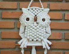 Image result for owl macrame pattern