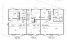 1000 Images About Small Floor Plans Multi Fam On