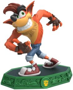 The Crash figure introduced in Skylanders Imaginators. ,'