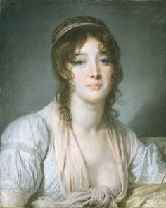 Madame Baptiste (c.1790). Jean-Baptiste Greuze (French, 1725-1805). Pastel on cream paper. The Frick Collection. While retaining the clear, bright colors and lighter attitude of 18th-century painting, Greuze introduced a Dutch-influenced realism into...