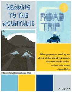 summer road trip usa