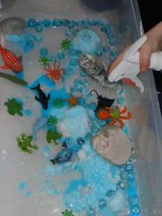 Discovering the letter O with sensory  and practical life learning activities