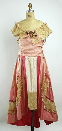 Evening dress by Lucile, c.1916