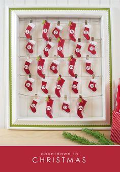 Silhouette-stocking-advent-calendar