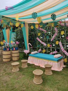 Mehendi Decor Ideas, Mehndi Decor, Floral Wedding Decorations, Ceremony Decorations, Bridal Corner, Wedding Planning Pictures, Quirky Decor, Wedding Consultant, Haldi Ceremony