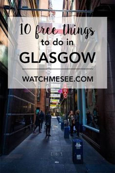 Traveling to Scotland can burn a big hole in your wallet - but luckily there are so many free things to do in Glasgow that are fun and good for the soul! Get travel to Glasgow, Scotland tips to add to your UK bucket list itinerary. Scotland Vacation, Scotland Travel, Ireland Travel, Scotland Trip, Inverness Scotland, Outlander, Travel Guides, Travel Tips, Europa Tour