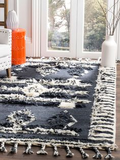 Safavieh Kenya Hand-Knotted Indoor/Outdoor Wool Rug