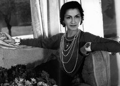 """Gabrielle Bonheur Chanel..in your own words.... """"Fashion fades, only style remains the same."""" x Tash"""