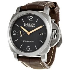 Panerai Luminor Titanium Men's Watch 00351