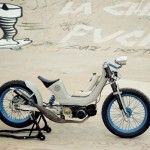 "CARLOS (XARLY) # 1990 Derby, 49cc Moped ""Vintage Addiction Crew Bonneville"""
