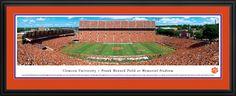 Clemson Tigers Panoramic - Memorial Stadium Picture $199.95