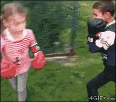 Best GIFs of the Week-Punching