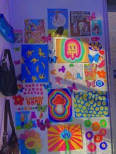 Indie Bedroom, Indie Room Decor, Cute Bedroom Decor, Aesthetic Room Decor, Room Ideas Bedroom, 90s Aesthetic, Chambre Indie, Arte Indie, Hippy Room