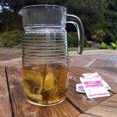 Red Raspberry Leaf Iced Tea