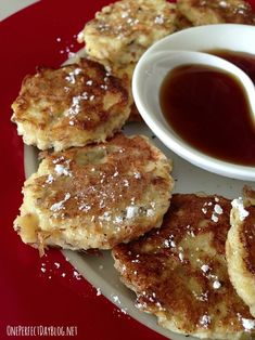 French toast dippers with cinnamon and maple syrup. So. Good.