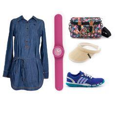 #EstiloMVD Verano deportivo! Cuál es tu preferido? Reloj de Replay, cartera de Zooko, visera de Rip Curl, zapatillas deportivas de Adidas.