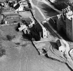 Part of the Aerofilms collection found on the Britain from Above site. Bolton Castle, North Yorkshire, Britain, England, Outdoor, Collection, Outdoors, Outdoor Games, English