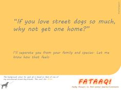 Ad 6 in self-created campaign in FATAAQ series, this time for street dogs...