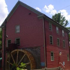 old mill building in Ohio