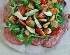 Simpel #recept voor het bakken van een roze (bieten) #pizza