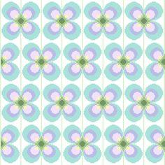 Large retro flower - Cross stitch pattern (3.00 GBP) by crossstitchtheline