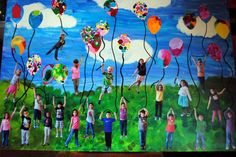 Kinder collaborative art project for school auction. Kinder collaborative art project for school auction. School Auction Projects, Class Art Projects, Collaborative Art Projects, Classroom Art Projects, Art Classroom, Auction Ideas, Welding Projects, Kindergarten Art, Preschool Art