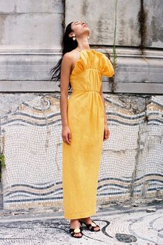 Mara Hoffman Spring 2020 Ready-to-Wear Fashion Show Collection: See the complete Mara Hoffman Spring 2020 Ready-to-Wear collection. Look 10 Mara Hoffman, Fashion 2020, Fashion News, High Fashion, Fashion Spring, Fashion Trends, Vogue Paris, Backstage, Strapless Gown